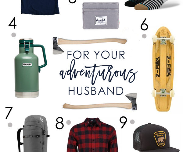 Moodboard for your Adventurous Husband