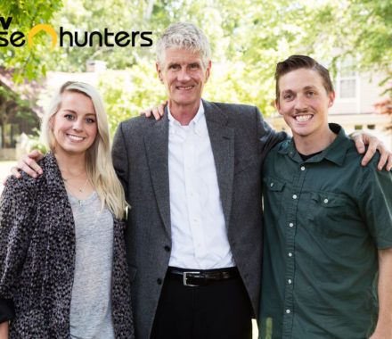 Image of Ashley, Frank and Jacob for House Hunters