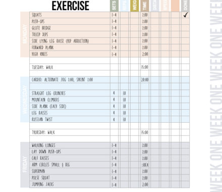 Image of Workout Plan by ALDS