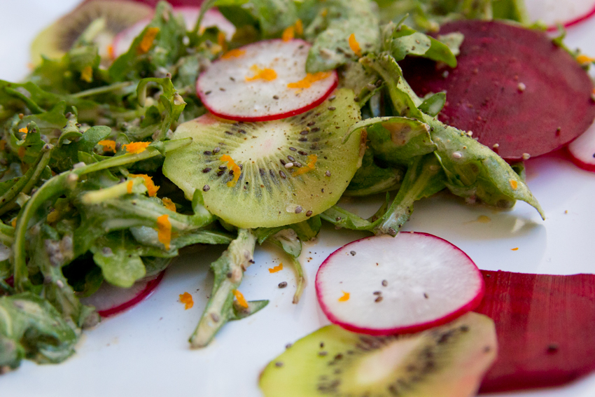 Image of Arugula salad made by Ashley Lauren